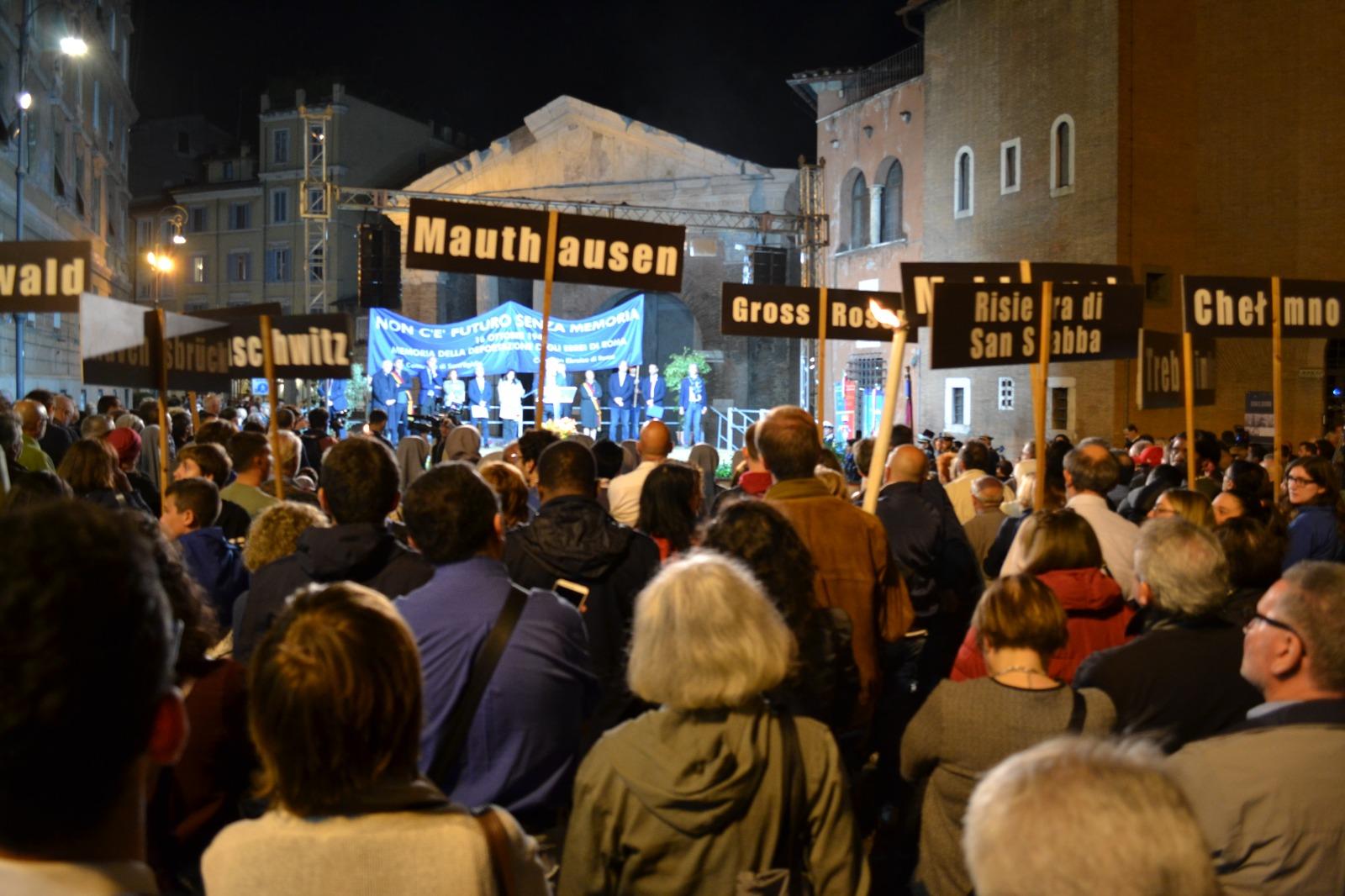"""""""Non c'è futuro senza memoria"""": Comunità di Sant'Egidio e Comunità Ebraica insieme per non dimenticare il 16 ottobre"""